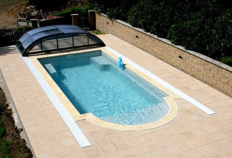 Dokončená instalace keramického bazénu Java