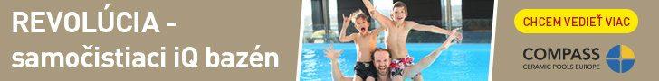 Samočistiaci bazén COmpass
