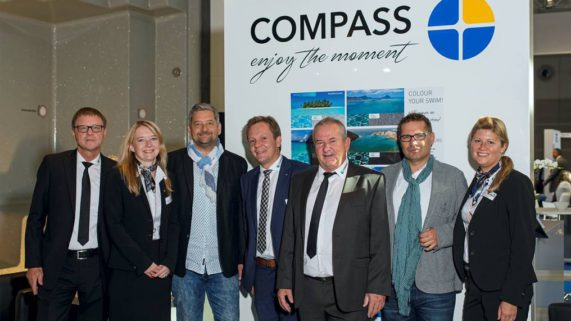 Compass Pools bei der Messe – Interbad in Stuttgart