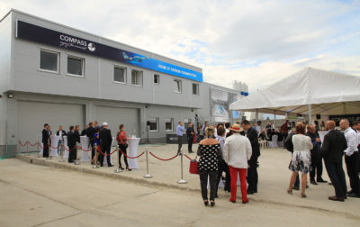EUROSPAPOOLNEWS: The brand new Factory of  Compass Ceramic Pools officially opened
