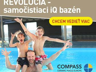 Revoluce v péči o bazény: Samočistící iQ bazén